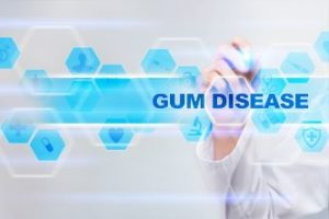 "Sign that reads ""Gum Disease"""